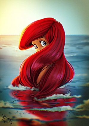 Walt disney fã Art - Princess Ariel