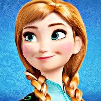 Walt Disney ikoni - Princess Anna