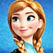 Walt Disney Icons - Princess Anna - walt-disney-characters icon