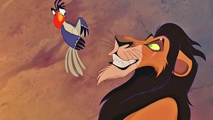 Walt Disney Screencaps - Zazu & Scar