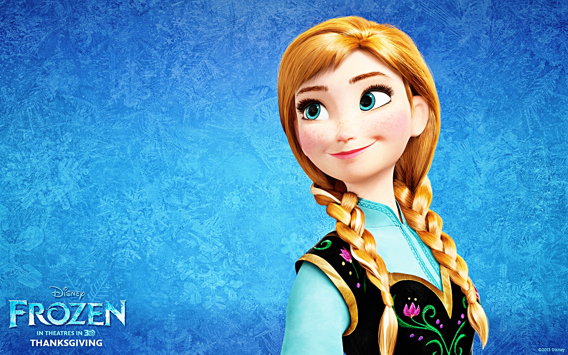 Walt disney wallpapers princess anna walt disney characters wallpaper 35958815 fanpop - Frozen anna disney ...