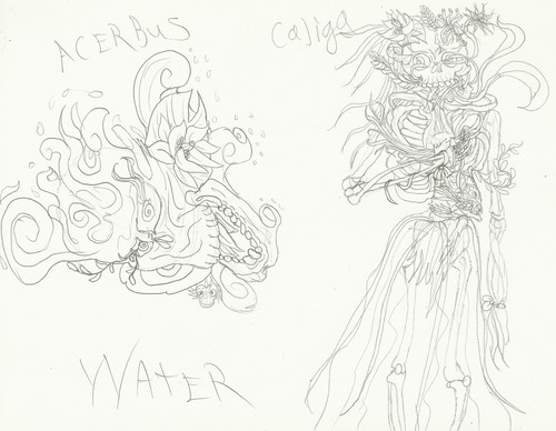 Mariposa Region RPG achtergrond called Water Acerbus & Caliga