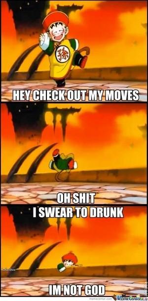 When Gohan gets drunk.....
