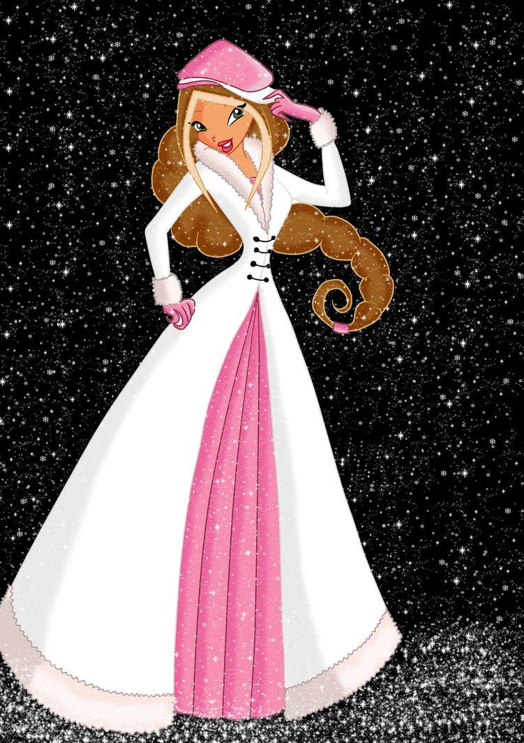 Flora Winter Ballgown