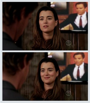 Ziva and Tony (in the background) 7x21 - Obsession