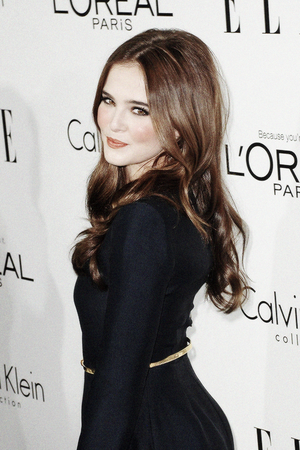 Zoey Deutch at ELLE's 20th annual Women in Hollywood celebration