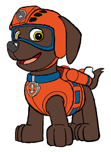 PAW Patrol karatasi la kupamba ukuta possibly containing anime titled Zuma - Water Rescue Pup