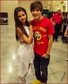austin mahone & selena gomez, 2013 - austin-mahone photo