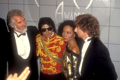 Backstage At The 1984 American Music Awards