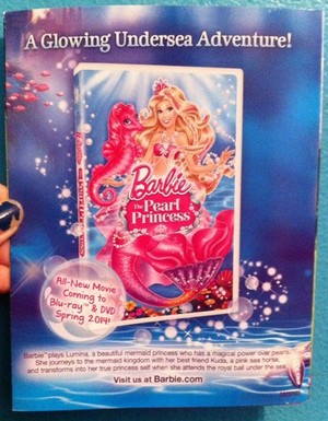 barbie the pearl Princess cover DvD