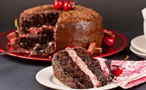 вишня cake