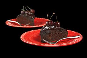 kers-, cherry cake