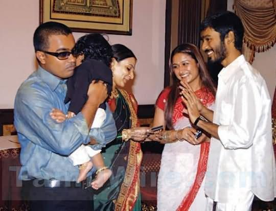 Dhanush son yatra and linga imageschildhood photosnew
