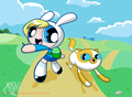fionna and cake - adventure-time-with-finn-and-jake photo