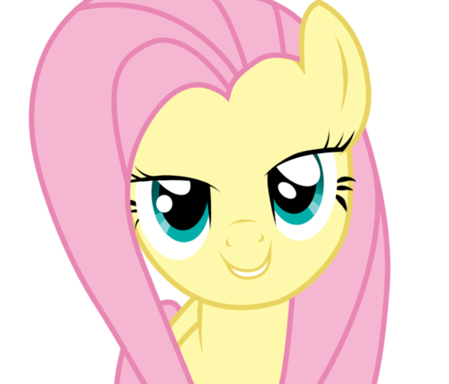 my little pony friendship is magic wallpaper entitled fluttershy cinta Face