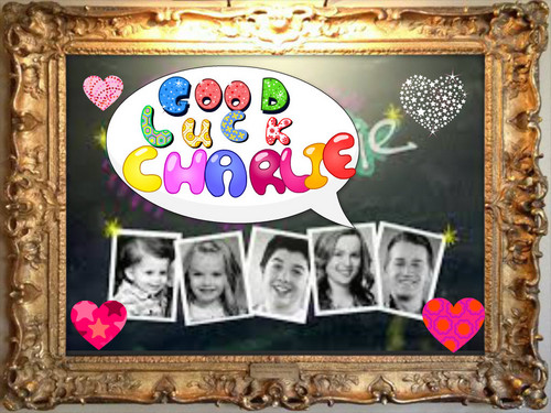 Good Luck Charlie wallpaper possibly containing a stained glass window called good luk charlie