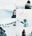 Game Of Thrones + Snow - game-of-thrones fan art