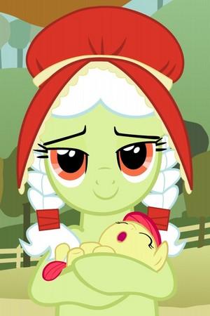 granny smith and baby applebloom