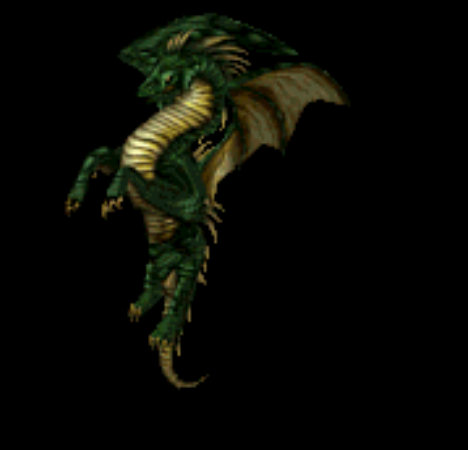 Dragons wallpaper titled green dragon
