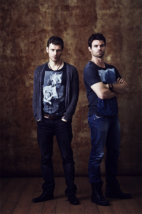 joseph مورگن & daniel gillies → comic con 2013 photoshoot
