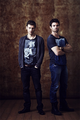 joseph morgan & daniel gillies → comic con 2013 photoshoot