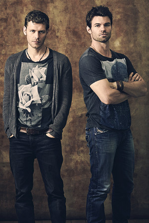joseph 모건 & daniel gillies → comic con 2013 photoshoot
