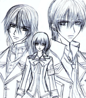 kaname,yuuki,zero
