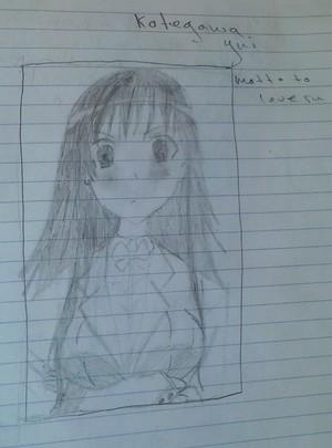 kotegawa yui fanart i drew