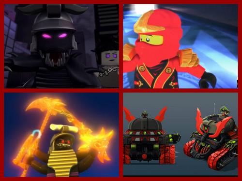 Lego Ninjago Wallpaper Titled The Final Battle