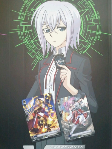 Cardfight Vanguard karatasi la kupamba ukuta with anime called misaki tokura