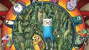 Adventure Time With Finn and Jake wolpeyper containing anime and a stained glass window titled madami other stuff