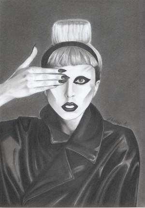 my Lady Gaga drawing