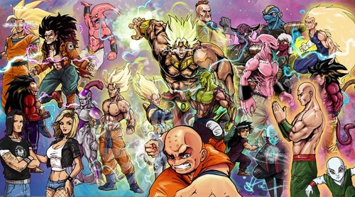 Dragon Ball Z wallpaper containing Anime called my dbz drawing
