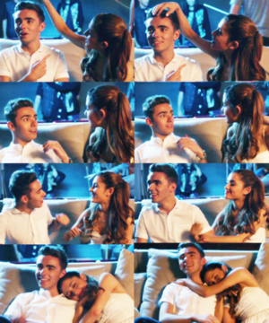 nathan & ariana Almost is never enough