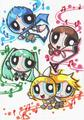 powerpuff vocaloids - powerpuff-girls photo