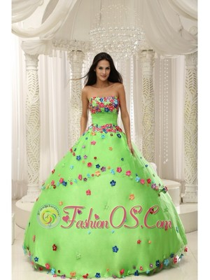 pretty garden theme dress