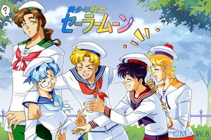 sailor moon gender bender