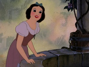 snow white's old maiden look