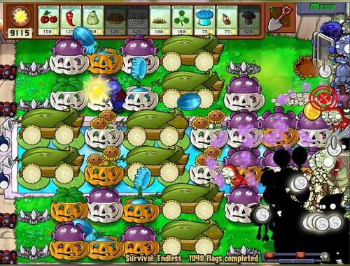 Plants zombies endless survival guide