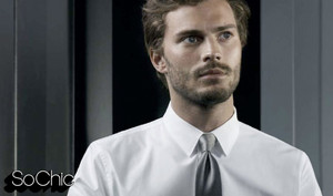 the new Christian Grey : Jamie Dornan
