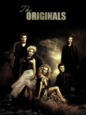 the originals + stefan and caroline