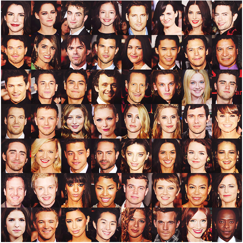 Twilight Series wallpaper entitled twilight saga cast