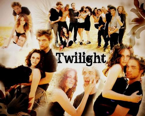 Twilight Series wallpaper titled twilight saga cast