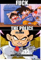 two memes in one - dragon-ball-z photo