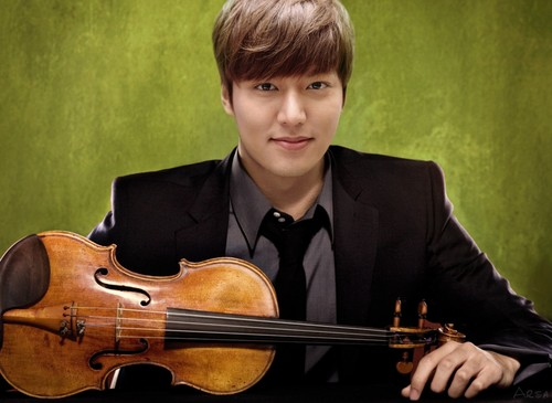 Lee Min Ho wallpaper with a violist and a cello titled violinist