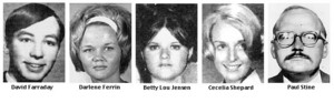 zodiac killer victims