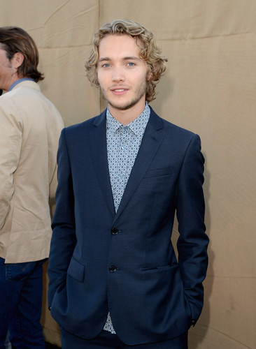 Toby Regbo wallpaper containing a business suit, a suit, and a double breasted suit called Summer TCA party '13