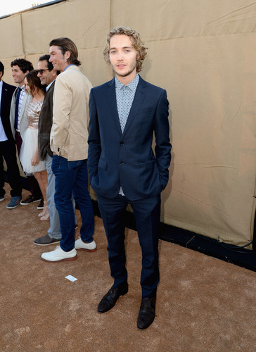 Toby Regbo fondo de pantalla with a business suit and a suit titled Summer TCA party '13