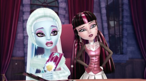 Monster High wallpaper possibly containing a portrait called 13 Wishes Screenshots