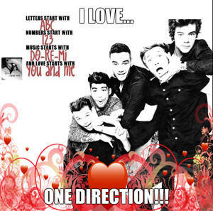 1D l'amour is 4 ever